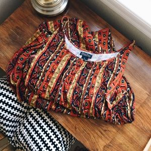 Lucky Brand Dress Tribal Pattern - Like New